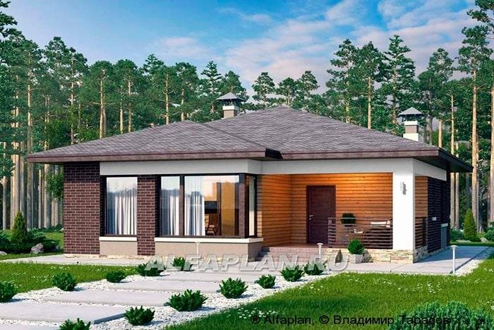 Проект дома 372A