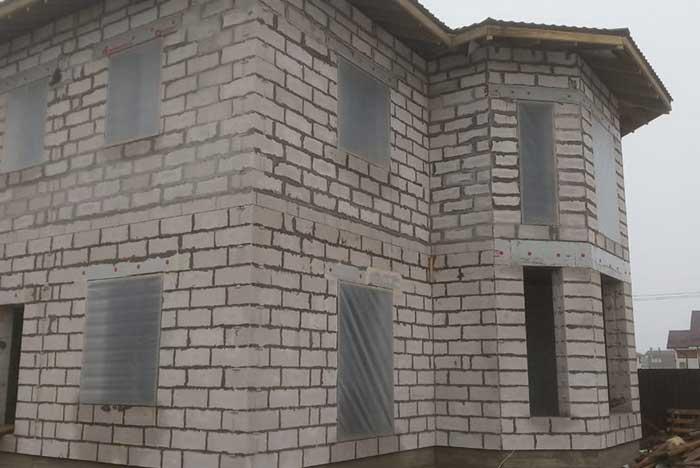 Дом в Манушкино